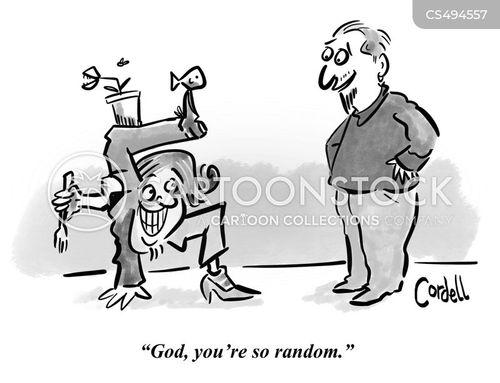 wacky cartoon