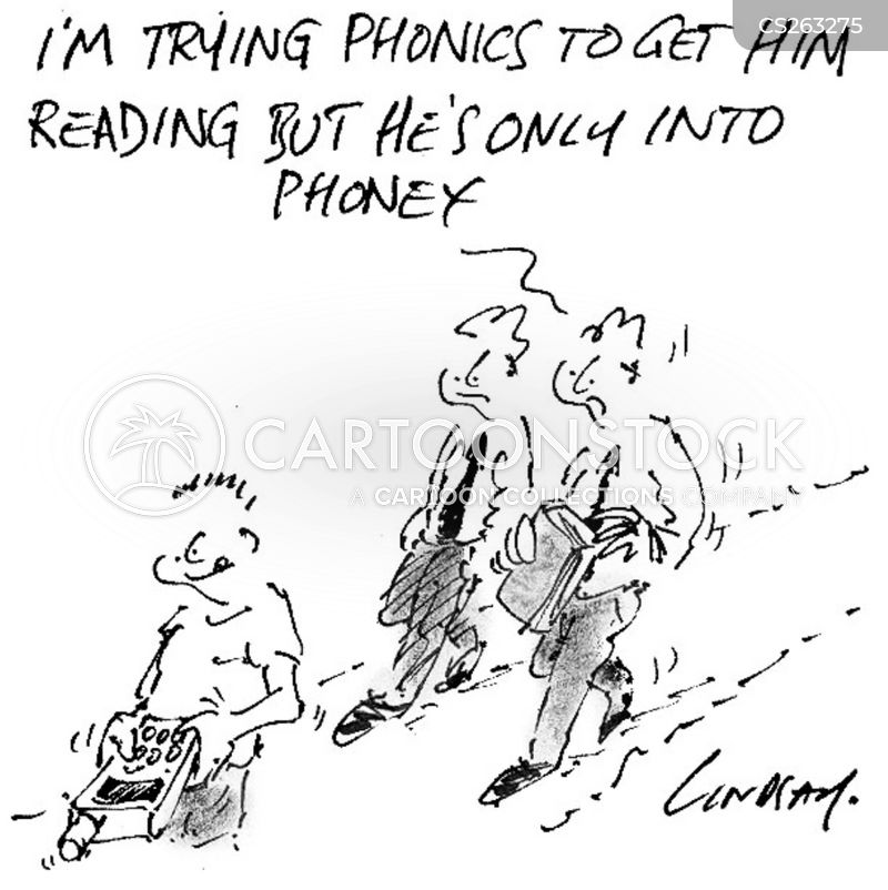 learning to read cartoon