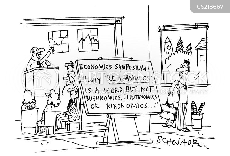 Reaganomics Cartoons and Comics - funny pictures from