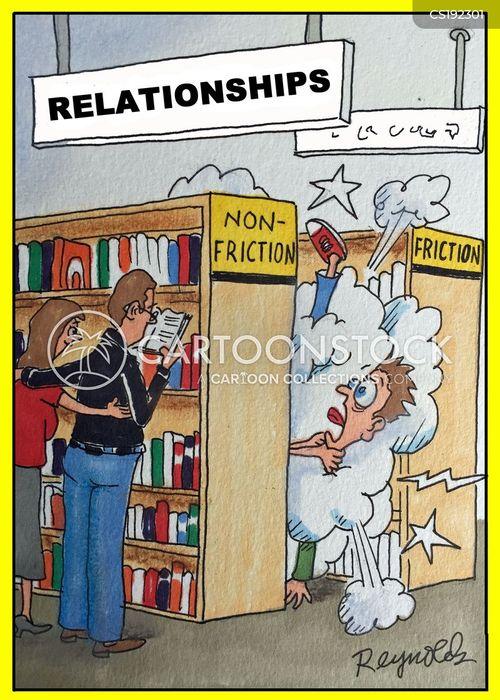 difficult relationships cartoon
