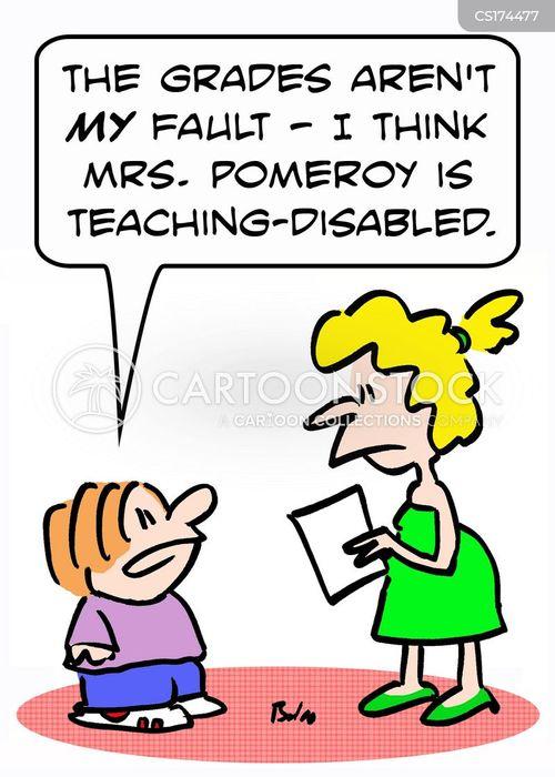 disabilities cartoon
