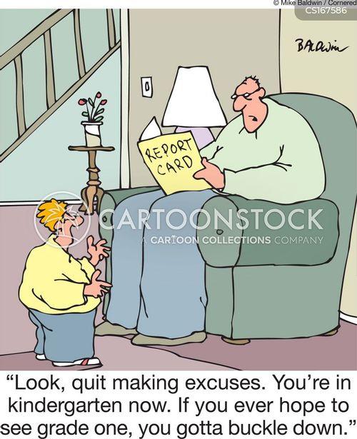 assignment cartoon