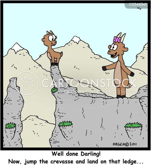 crevasse cartoon