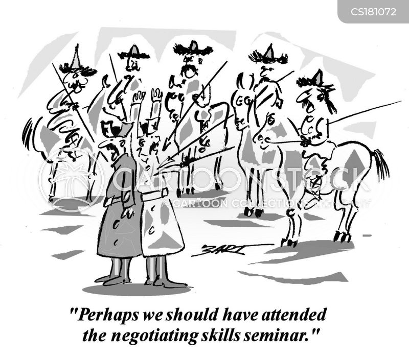 negotiated cartoon