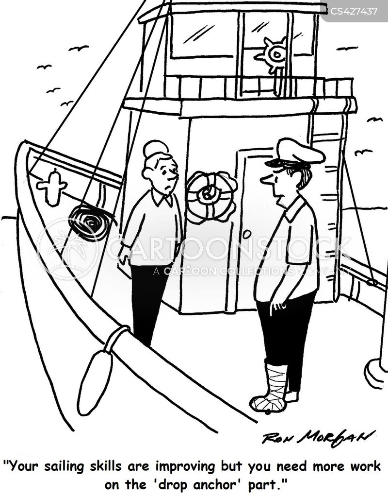 sailing ships cartoon