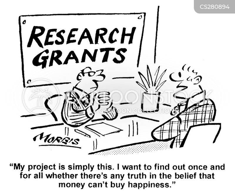 Research Proposal Cartoon 1 Of 3