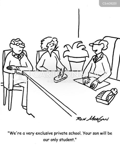exclusiveness cartoon