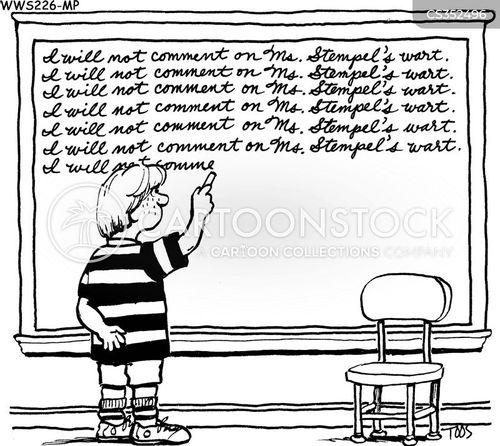 warts cartoon