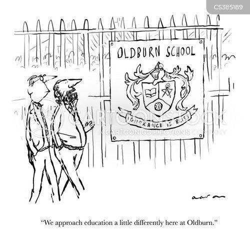 teaching styles cartoon