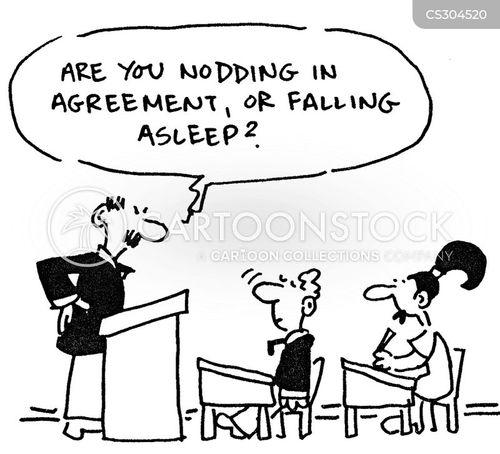 class room cartoon