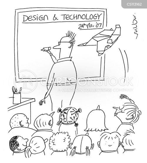 school pupils cartoons and comics