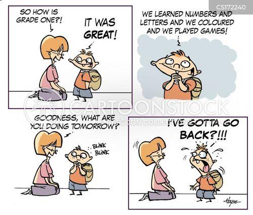 kindergartens cartoon
