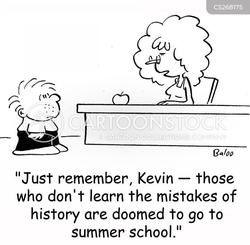 summer school cartoon