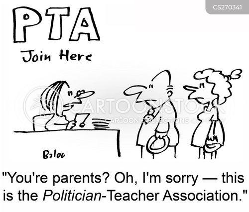 parent teacher association cartoon
