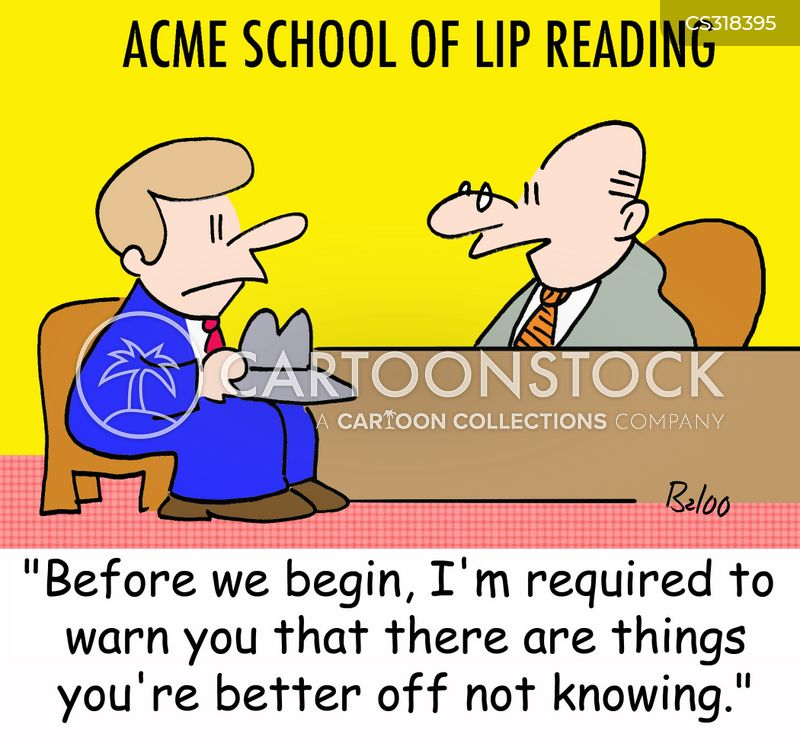 Teacher Lip Cartoons and Comics - funny pictures from