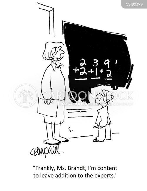 addition cartoon