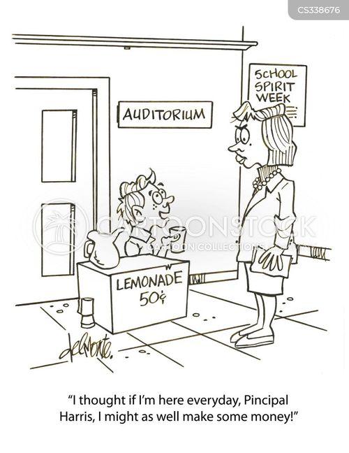 auditorium cartoon