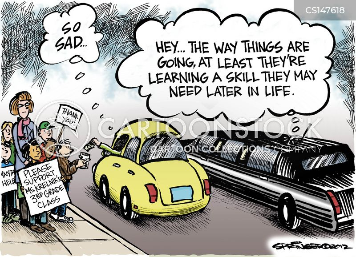 job markets cartoon