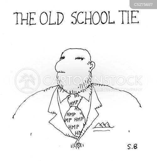 school ties cartoon