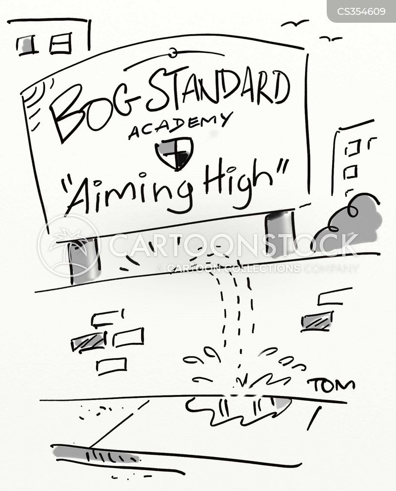 bog standard cartoon