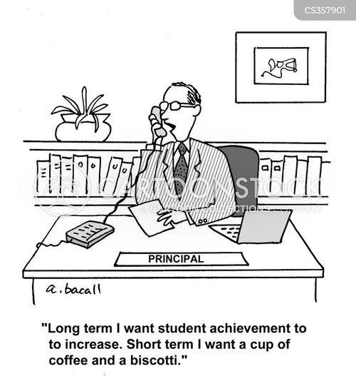 educational goals cartoon