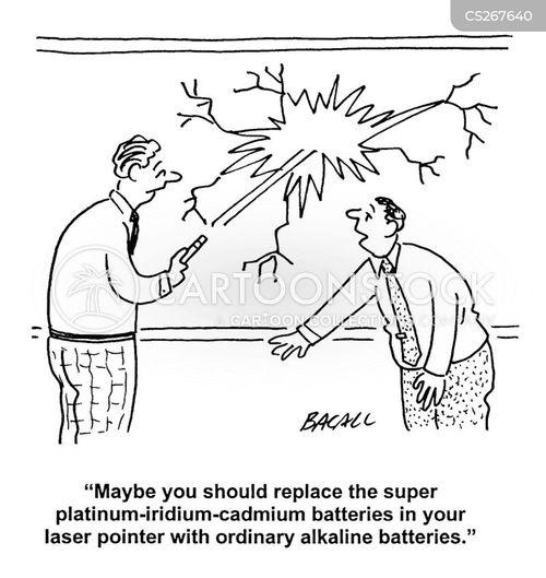 laser pointers cartoon