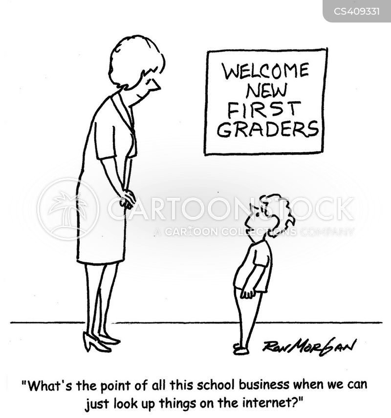 first graders cartoon