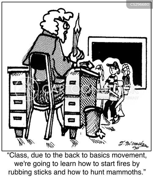 class size cartoon