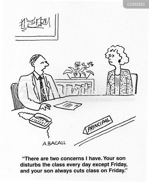 parent evenings cartoon