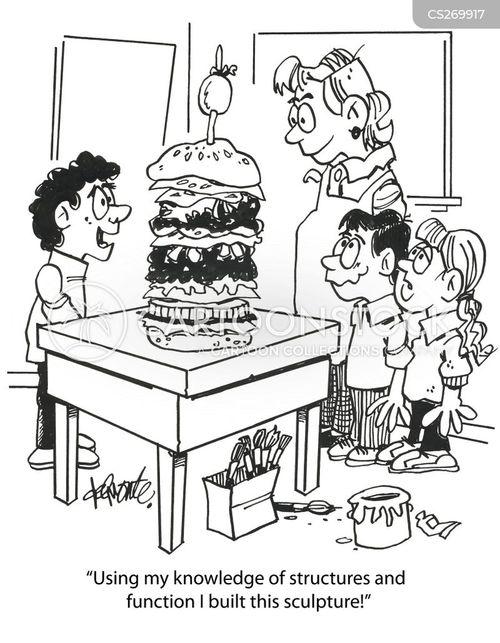 deli meats cartoon