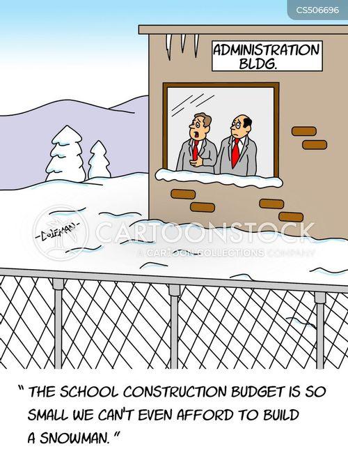 school administrator cartoon