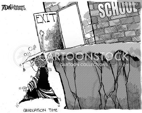 uncertain future cartoon
