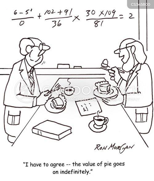 mathematic formulas cartoon