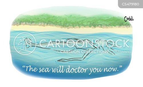 epsom salts cartoon