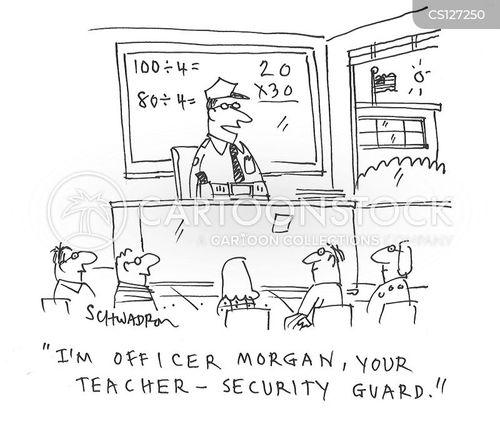 School Massacre Cartoons And Comics