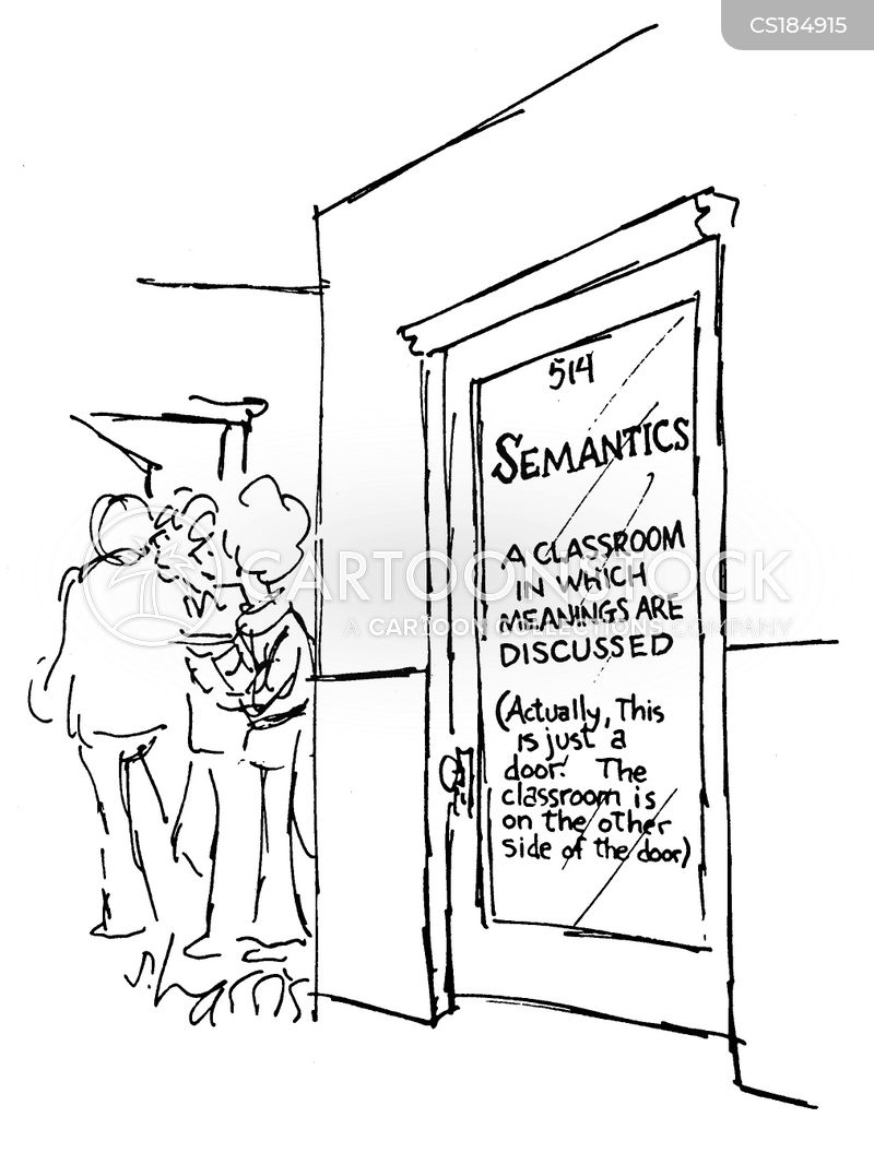 semantics cartoon