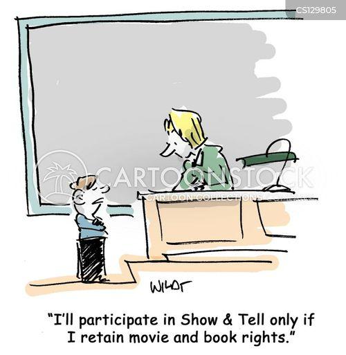 participate cartoon