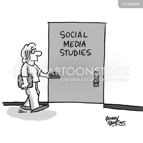 media studies cartoon