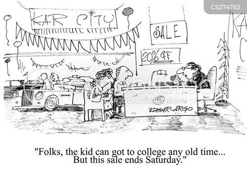 college funds cartoon