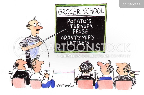 green grocers cartoon