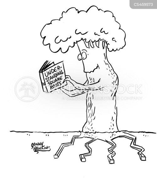 root cartoon