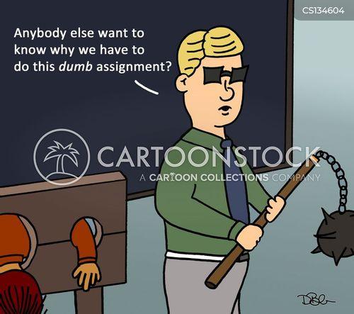 disciplinarians cartoon