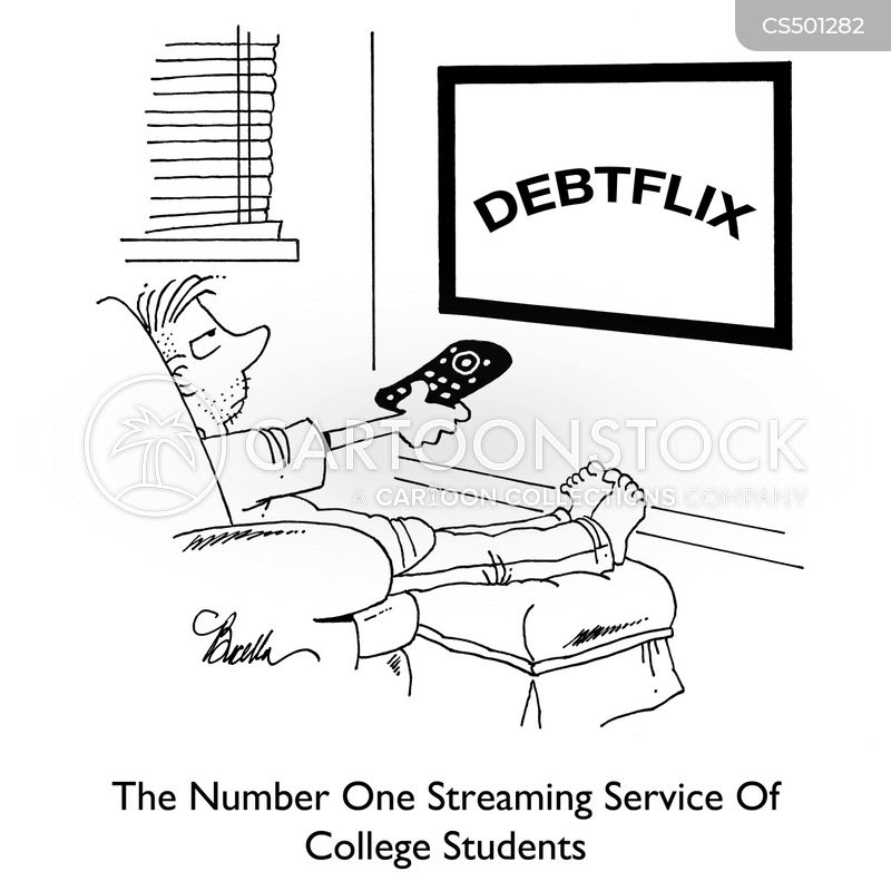 television service cartoon