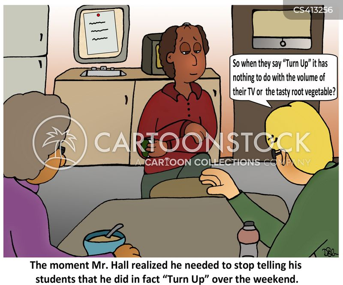 colloquialisms cartoon