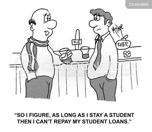 undergraduates cartoon