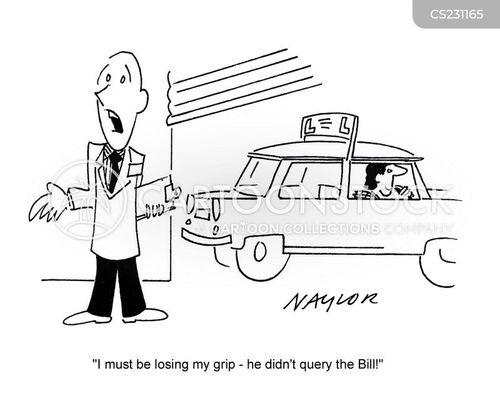 query cartoon