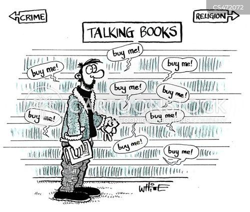 talking book cartoon