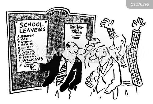 leaver cartoon