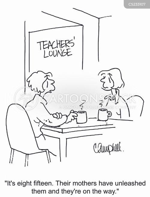 school day cartoon