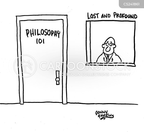 deep thinking cartoon